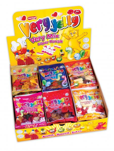 Very Jelly Soft Candy Jelly - Mix Box