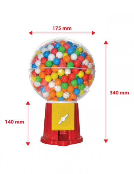 Airball Gum Machine With Bulk Nylon Bag