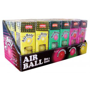 Airball  Ball Gum crazy youth (Strawberry, Watermelon, Lemon)