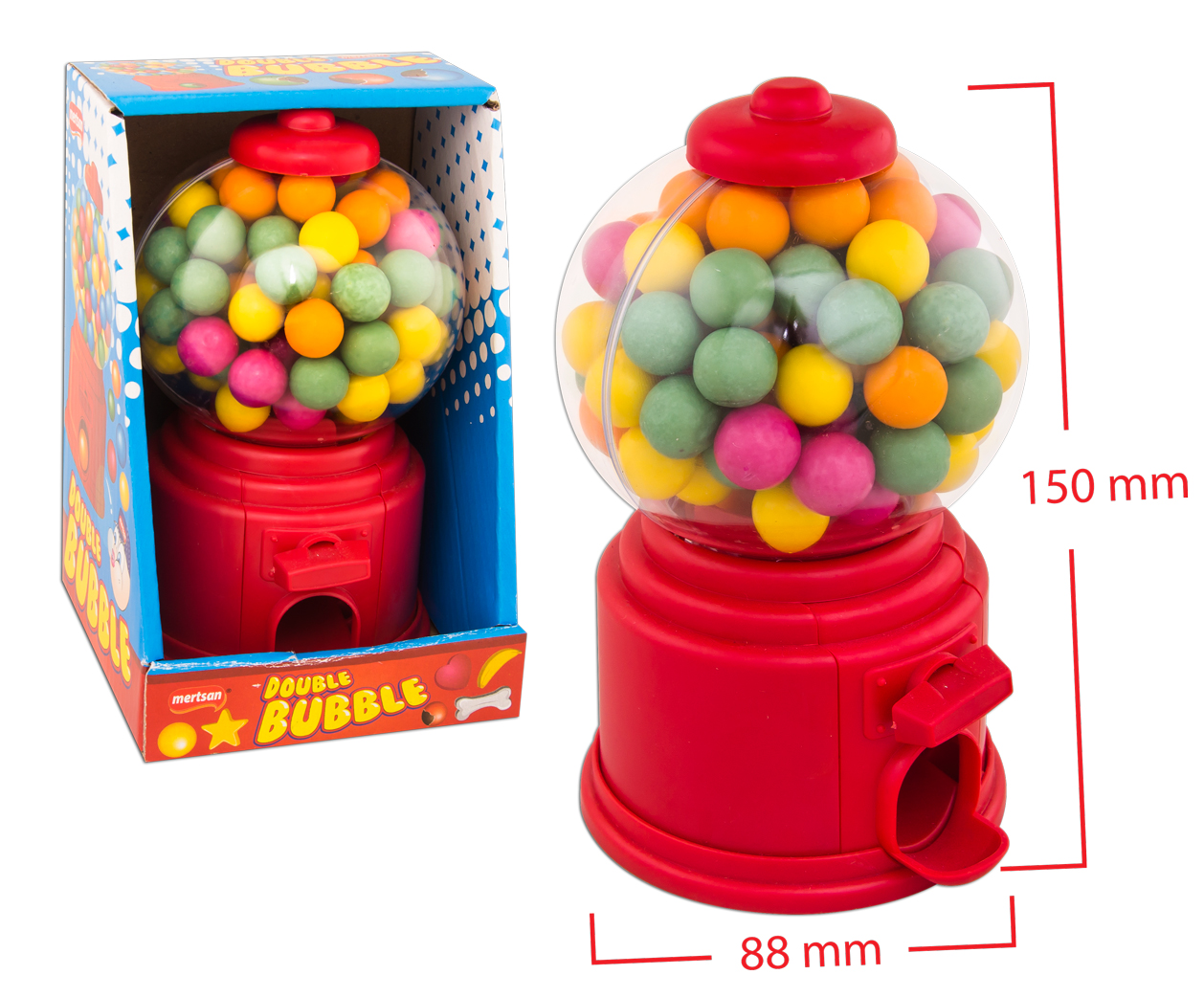 Double Bubble Top Sakız Mini Makine